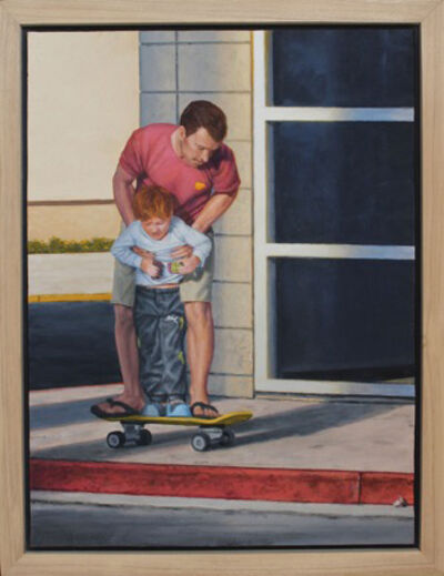 "William Glen Crooks, '""The Skateboard""', 2019"