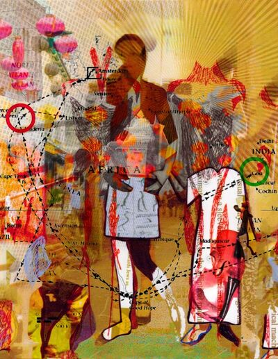 Diane Holland, 'Palimpsestic Metanoia 8', 2020