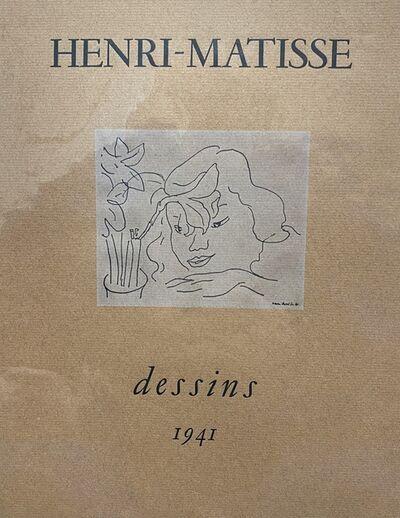 Henri Matisse, 'Dessins', 1941