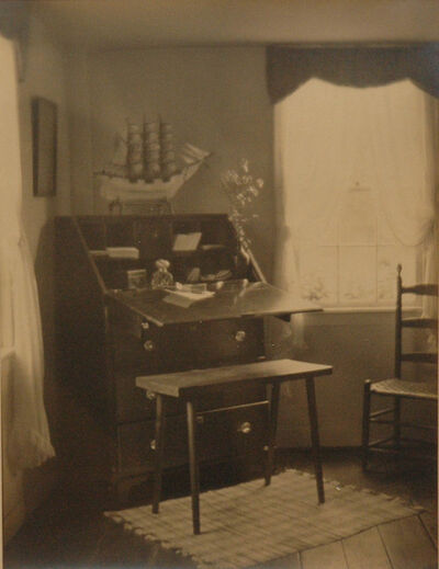 Margaret Watkins, 'Untitled (interior with writing desk)', 1921