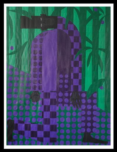 Jon Key, 'Man In The Violet Dreamscape No. 4', 2018