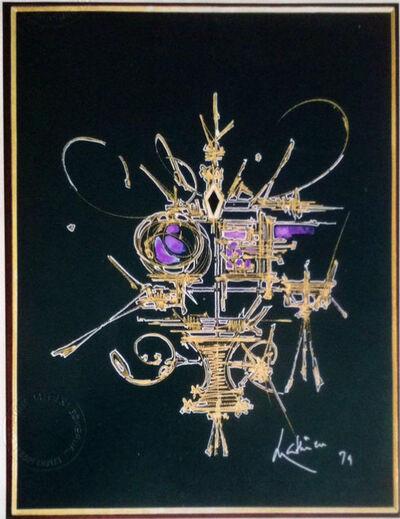 Georges Mathieu, 'RESEDA', 1979