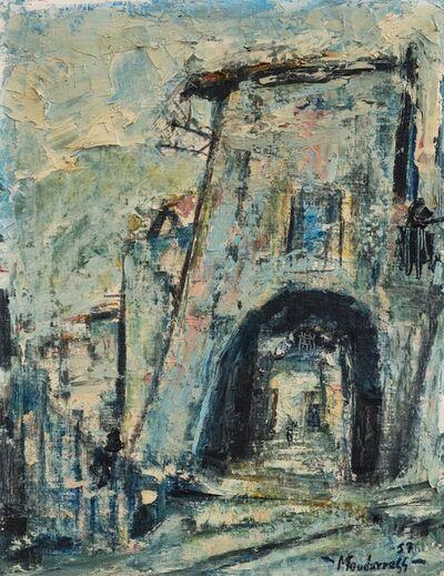 Fateh al-Moudarres, 'Vicolo di San Vito a Roma', 1957