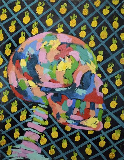 Bradley Theodore, 'Pineapples and Skull ', 2018