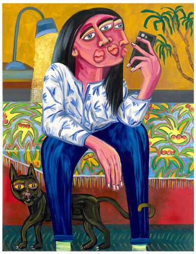 Oska Gutheil, 'Selfie In Bedroom (02)', 2021