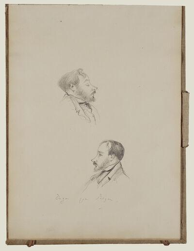 Edgar Degas, 'Degas and Other Sketches', 1877