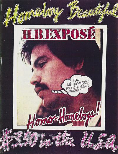 Joey Terrill, 'Homeboy Beautiful, no. 1', 1978