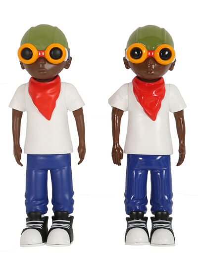 Hebru Brantley, 'Flyboy toys', 2016