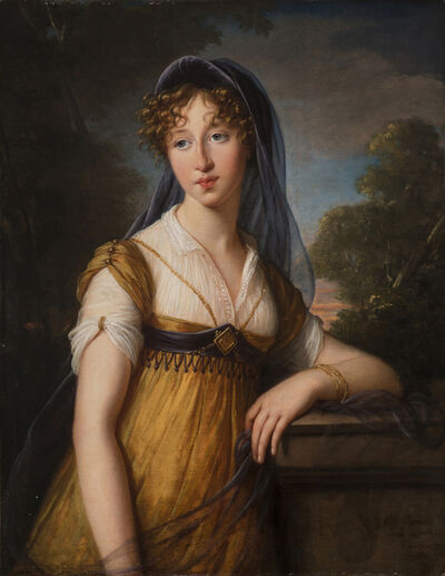 Élisabeth Louise Vigée-Le Brun, 'Portrait of a Woman, Said to Be Anne Catherine (Aimée) Augier Vestris', 1803