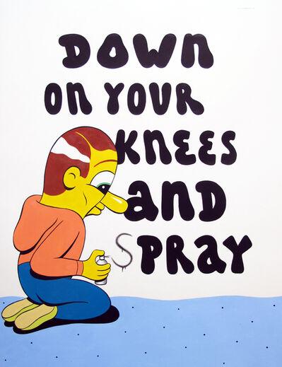 HuskMitNavn, 'Down on your knees', 2013