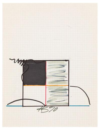 Keith Sonnier, 'Study for Ba-O-Ba', 1970
