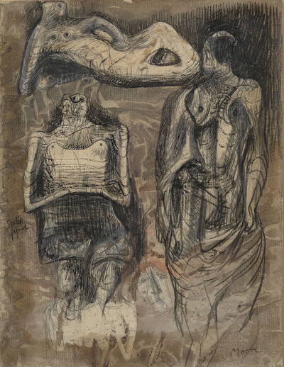 Henry Moore, 'Ideas for Sculpture', 1942