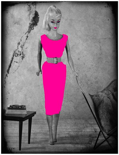 Lars Tunebo, 'Barbie Batchair, Cerise', 2019