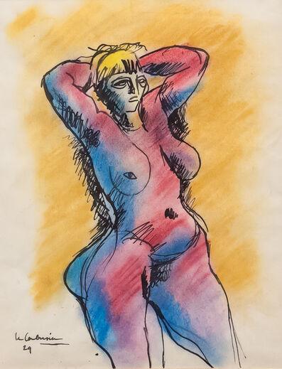 Le Corbusier, 'Stehender Akt', 1929