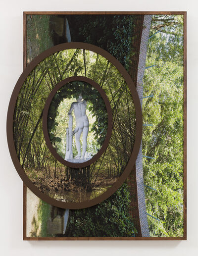 Todd Gray, 'Euclidean Gris Gris (Bamboo / Figure in Leopold's Garden)', 2019