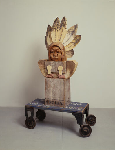 Marisol, 'Horace Poolaw', 1993