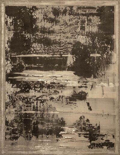 Pierre Bonnefille, 'SILVER PAINTING 18', 2020