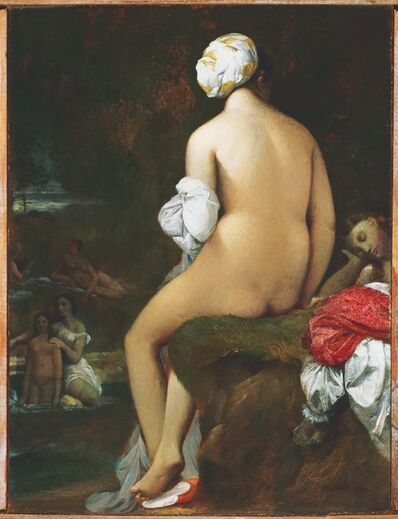 Jean-Auguste-Dominique Ingres, 'The Small Bather', 1826