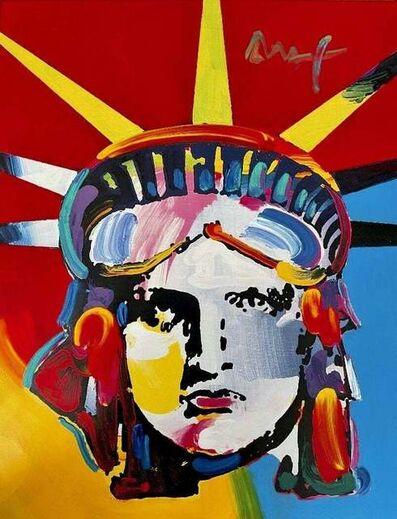 Peter Max, 'Liberty Head', 2005