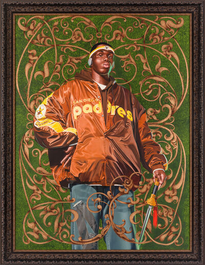 Kehinde Wiley, 'Alexander the Great', 2005
