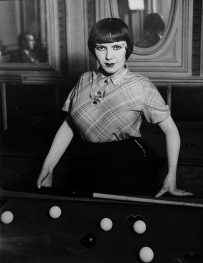 Brassaï, 'La fille de Joie au Billard Russe', 1932