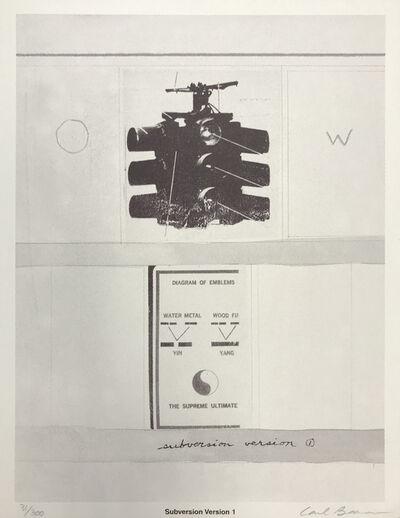 Carl Beam, 'SUBVERSION VERSION 1', ca. 1990