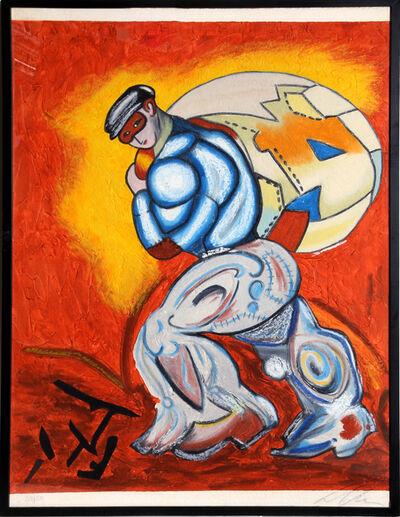 Sandro Chia, 'The Thief from Ten Masterprints', 1989