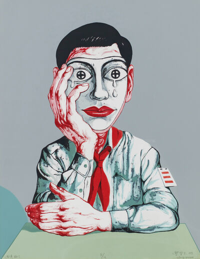 Zeng Fanzhi 曾梵志, 'Mask No.1', 1999