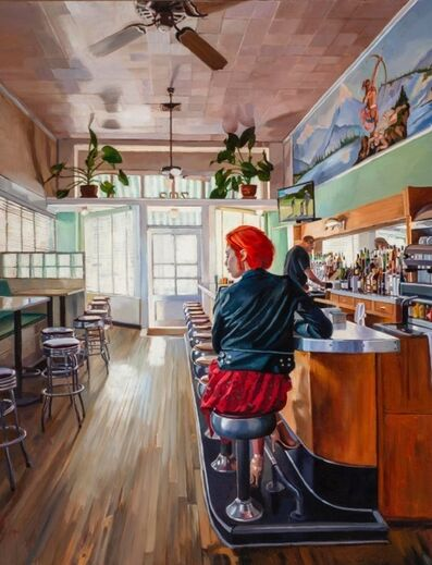 Patricia Chidlaw, 'Bar at the Paradise Cafe', 2019