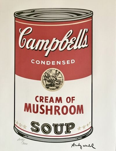 Andy Warhol, 'Campbell's Soup : Cream of Mushroom', 1986