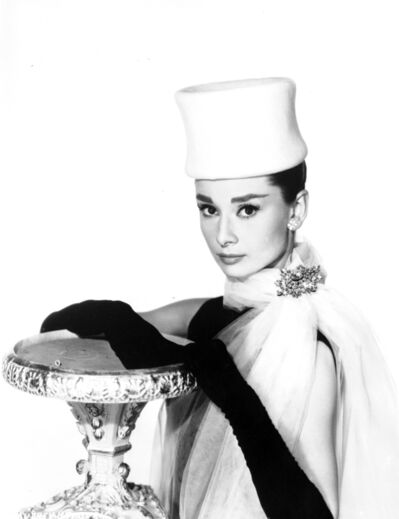 Bud Fraker, 'Audrey Hepburn Leaning on Table, an Archival Print', 1963