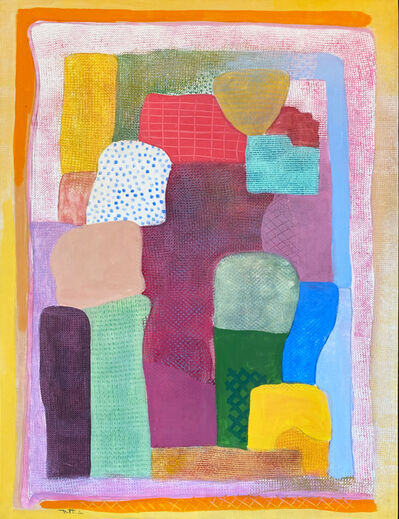 Robert Natkin, 'Themes and Variations for Nina', 2003