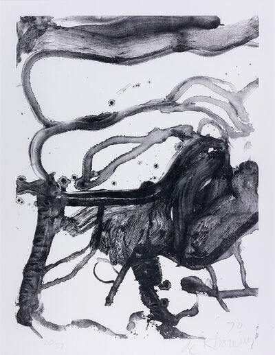Willem de Kooning, 'High School Desk', 1971