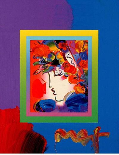 Peter Max, 'Blushing Beauty On Blends III', 2008