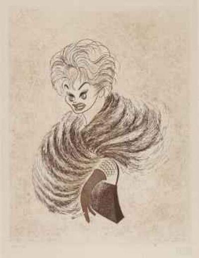 Al Hirschfeld, 'Lucille Ball', 1962