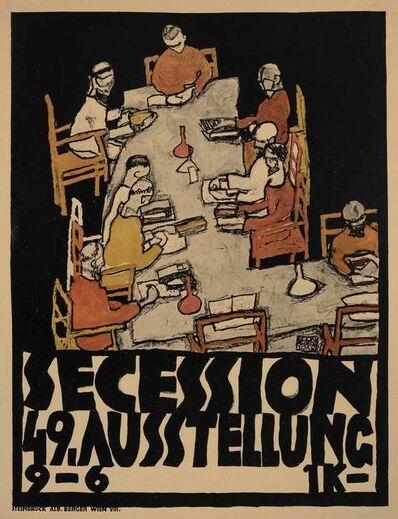 Egon Schiele, 'Secession 49, Ausstellung (Kallir 15)', 1918