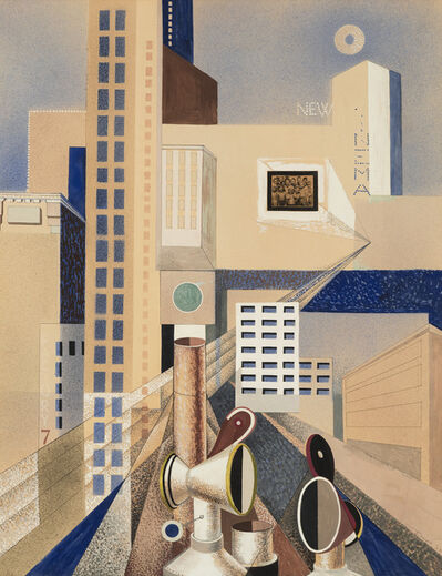 Theodore Roszak, 'City Forms', 1937