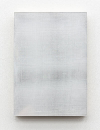 Timo Kube, 'Untitled silk (in white) #3', 2015