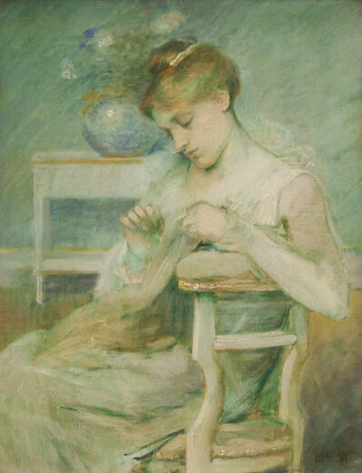 Julian Alden Weir, 'Composition in Green'