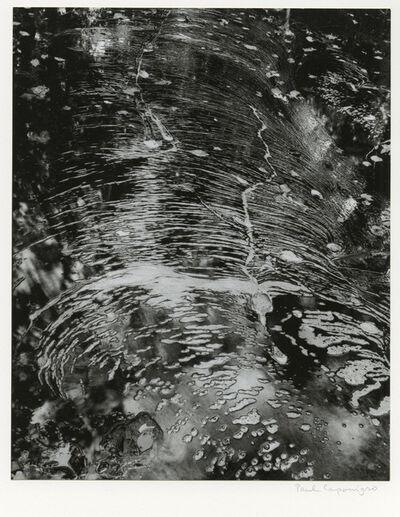 Paul Caponigro, 'Foam on Water, Dover, Massachusetts', 1960