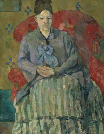 Paul Cézanne, 'Madam Cézanne in a Red Armchair ', c. 1877