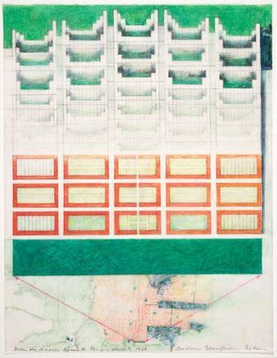 Barbara Stauffacher Solomon, 'From the Marina Green to Pacific Heights', 1987