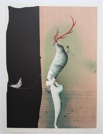 Paul Wunderlich, 'From the Song of Songs, Salome II, 9', 1969