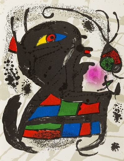 Joan Miró, 'Lithographies III', 1977