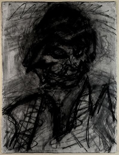 Frank Auerbach, 'Head of JYM III', 1980