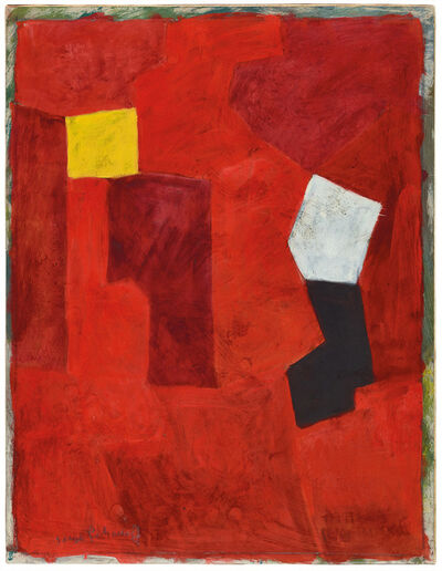 Serge Poliakoff, 'Composition à dominant rouge', 1965