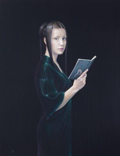Salustiano, 'Anna Reading', 2018