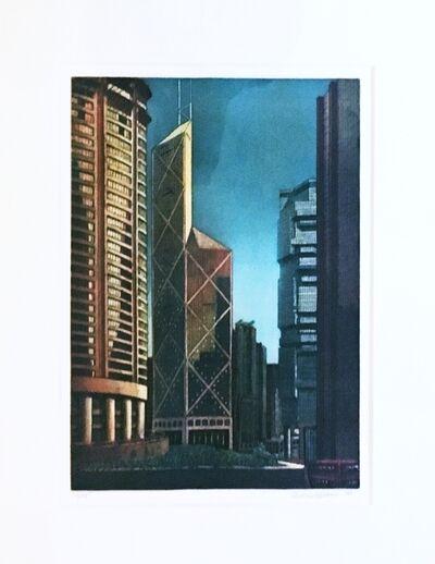 Richard Haas, 'Hong Kong', 1990