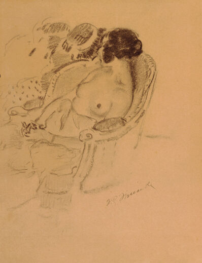 Frederick Carl Frieseke, 'Seated Woman', 1905-1920