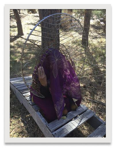 Senga Nengudi, 'In My Backyard, April 2020 (Performance Photograph)', 2020